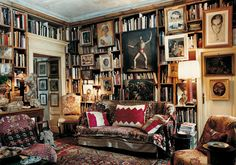 Stunning Library Room Design Ideas With Eclectic Decor - Page 44 of 60 Milan Apartment, Best Interior, Interior Design, Interior Modern, Library Room, Cozy Library, Home Libraries, Reading Room, Classic Elegance