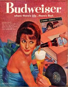 A great collection of Budweiser ads that contain both new beer commercials and old vintage magazine commercials. Lean back and let your eyes do the walking down this great beer ads alley! Beer Advertisement, Retro Advertising, Retro Ads, Vintage Advertisements, Vintage Ads, Vintage Prints, Vintage Posters, Advertising Campaign, Etsy Vintage