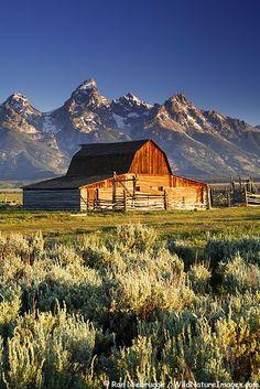 Grand Teton range, Grand Teton National Park, Wyoming