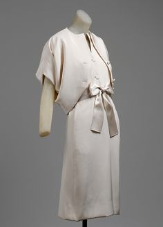 1965-66 House of Balenciaga | Afternoon ensemble | French | The Metropolitan Museum of Art