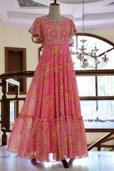 Indian Long Dress, Dress Indian Style, Indian Gowns, Pakistani Dresses, Anita Dongre, Indian Designer Outfits, Designer Wedding Dresses, Fashion Weeks, Kids Maxi Dresses