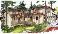 Roosevelt House Plan - 8050