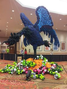 Awesome winner of the Large Balloon Sculpture at World Balloon Convention