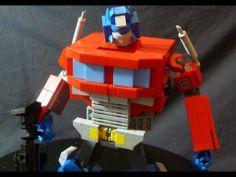Lego G1 Optimus Prime by BWTMT Brickworks   http://www.bwtmtbrickworks.com/