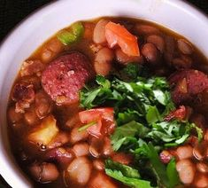 Frijoles Charros (Cowboy Beans) is an authentic Mexican dish named after the traditional Mexican horsemen, or Charros, and though it's nativ...