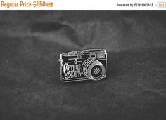 BLACK FRIDAY SALE Capture Beauty Lapel Pin by AsildaStore on Etsy