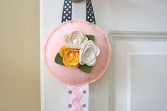 Serendipity Felt Hair Clip Holder by cranberriesandcapers on Etsy