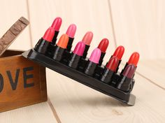 Just US$3.04, buy 12 Color Waterproof Long Lasting Matte Lipstick online shopping at GearBest.com Mobile.