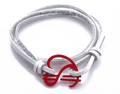 Red Emblem Bracelet