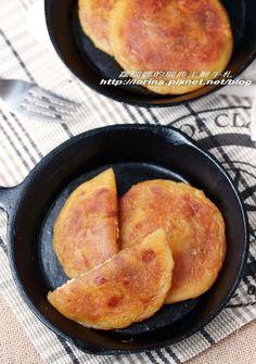 美味的韓式街邊小食~黑糖地瓜煎餅