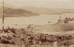 https://flic.kr/p/K9GHUQ | Port Cygnet, Tasmania - very early 1900s