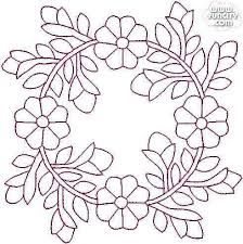 "Photo from album ""Sashiko"" on Yandex. Embroidery Flowers Pattern, Simple Embroidery, Crewel Embroidery, Embroidery Kits, Ribbon Embroidery, Cross Stitch Embroidery, Machine Embroidery, Embroidery Designs, Embroidery Tattoo"