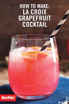 Anytime you're hosting a family gathering, it's a great idea to offer non-alcoholic alternatives to make the whole party feel welcomed! And what better way to do just that than with this recipe for a La Croix Grapefruit Cocktail and Mocktail from BevMo!?