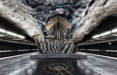 Also someplace I'd like to go...to see subway art in Stockholm