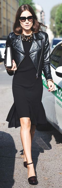 All In Black City Chic Outfit by Collage Vintage #sunglasses #style www.foursunnies.com