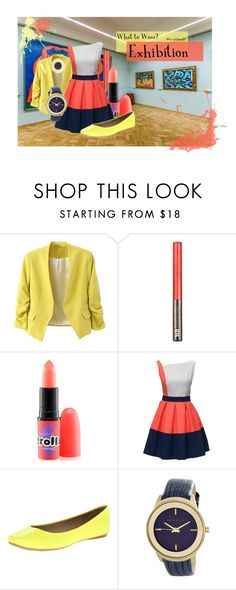"""""""Exhibition"""" by invisiblesight on Polyvore featuring Urban Decay, MAC Cosmetics, Kenneth Cole Reaction, Anne Klein and Jennifer Meyer Jewelry"""