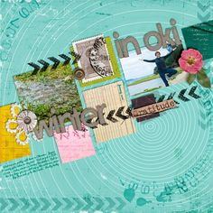 Monday's Highlight: Winter in Oki by Jennifer  Kit is Virtue of Wisdom by Paula Kesserling Alpha is Again and Again by Quirky Heart Winter Group Template 2015 by Scrapping with Liz