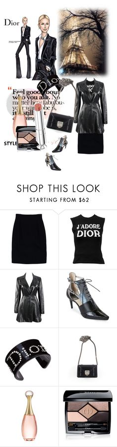 """""""October 31,2017"""" by anny951 ❤ liked on Polyvore featuring Christian Dior"""