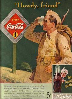 Coca Cola Company's Coca-Cola (1942)      Thank A Veteran!!!!!!  EVERY DAY