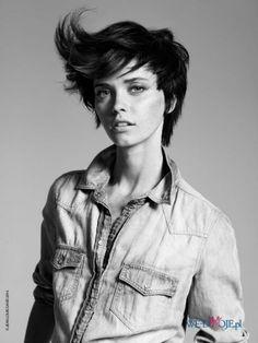 Krótkie włosy w nowej stylizacji #polkipl