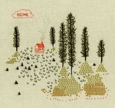 home embroidery art