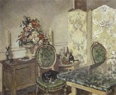 Clare Atwood 'John Gielgud's Room', 1933 © The estate of Clare Atwood