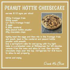 Peanut Hottie Cheesecake 2 syns per slice