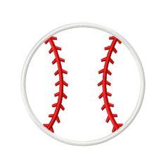 Baseball Applique
