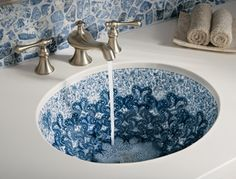 painted sink - Google Search