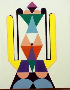 Ruth van Haren Noman - transformer oil on cavas