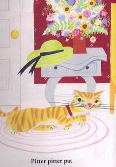 Mary Blair's illustration from 'I Can Fly'