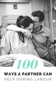 We know first hand how amazing partners and spouses can be during birth, especially when they know what to do! This list of 100 ways to support during labor and birth will help her feel supported, loved, and cared for and make you look like a birth pro!