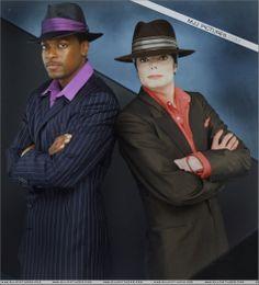 "Michael Jackson and Chris Tucker ""You Rock My World"""