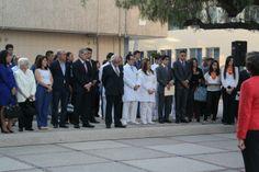 Asistentes a ceremonia de reinauguración del CICBI (13/02/14).