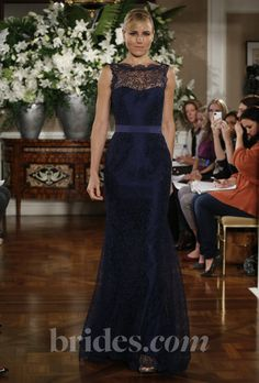 Romona Keveza Luxe Evening Gown - 2013   Bridal Runway Shows   Wedding Dresses and Style   Brides.com : Brides