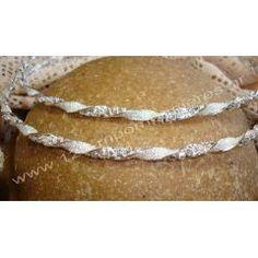 Στέφανα γάμου επάργυρα   123-mpomponieres.gr Bracelets, Silver, Bracelet, Arm Bracelets, Bangle, Bangles, Anklets, Money
