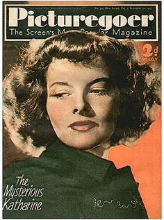 Katharine Hepburn - Picturegoer Magazine [United Kingdom] (20 November 1937)