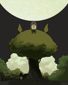 My Neighbor Totoro, studio ghibli  #totoro