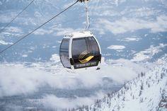 Gondola views at Kicking Horse Mountain Resort in Golden.