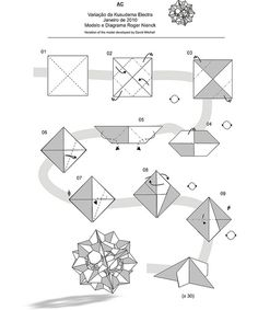 cool modular origami diagram single coil pickup wiring star ball diagrams great installation of 77 best kusudama curler bola images rh pinterest com rooster easy