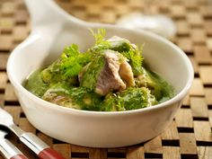 Paling in 't groen - Eel in a green sauce of mixed herbs