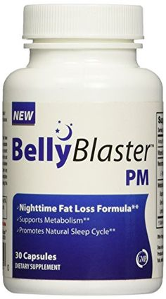Belly Blaster PM - Night Time Weight Loss Pill - Loss Weight While You Sleep - 30 Capsules Belly Blaster