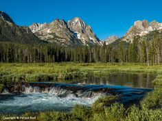 07/06/2014 - I have been running (as I did this morning), hiking, and skiing to Fishhook Creek Meadow for almost 30 years. With the beaver dams in the creek and Horstman Peak in the background, I never cease to feel a sense of awe when I come out into the open area of the meadow!