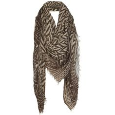 Lecco Scarf ($48) ❤ liked on Polyvore