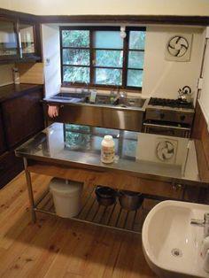 みんなの古民家「たからの庭」のキッチンは、創作和菓子作家Mさんの工房となります。...