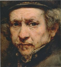 You really come to appreciate the mastery of Rembrandt when you see his paintings in comparison with those by people less skilled.