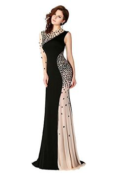 ORIENT BRIDE Women's One Shoulder Evening Dress Long Sleeve Prom Gown   ORIENT BRIDE Women's One Shoulder Evening Dress Long Sleeve Prom Gown Welcome to Orient bride shop for quinceanera dress,evening dress,prom dress,wedding dress and wedding party dress ect. This special black evening gown dress is sure to impress at your next prom or special occasion party.You'll be the belle of the ball in this glittering prom gown.A scoop neckline mermaid dress with crystal in bodice.This dress ..