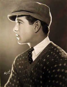 Gene Kelly in the 1920s looking very dashing.