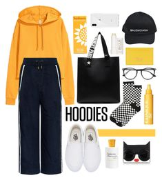 """""""hype ganks"""" by indahnovianaa ❤ liked on Polyvore featuring Public School, Vans, Givenchy, Gucci, Balenciaga, Clinique, Rebecca Minkoff, Therapy, Prada and Alice + Olivia"""