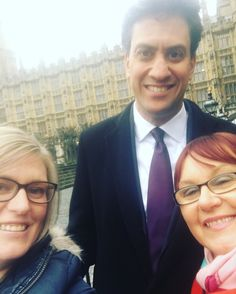 Selfie with Ed Milliband